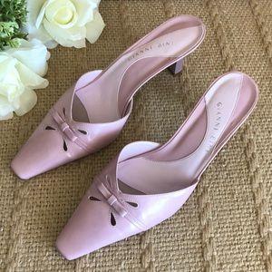 Gianni Bini Slide Sandals with Heel Size 7.5